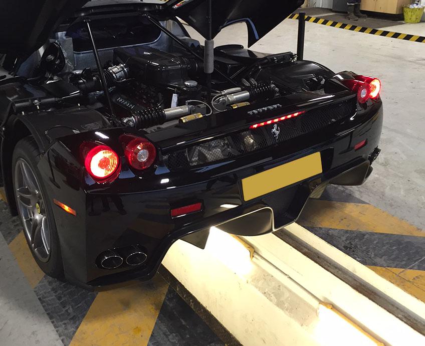 Ferrari Enzo Visit
